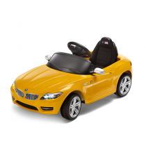 BMW Z4 Ride On Akülü Araba - Sarı