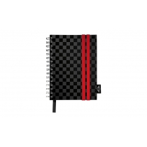 MINI Notebook Racing Stripes - Not Defteri